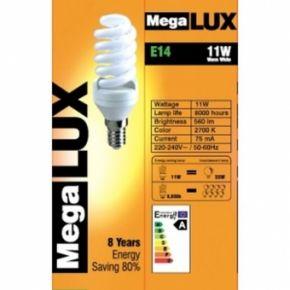Kompaktinė liuminescencinė lempa E14 11W (55W)